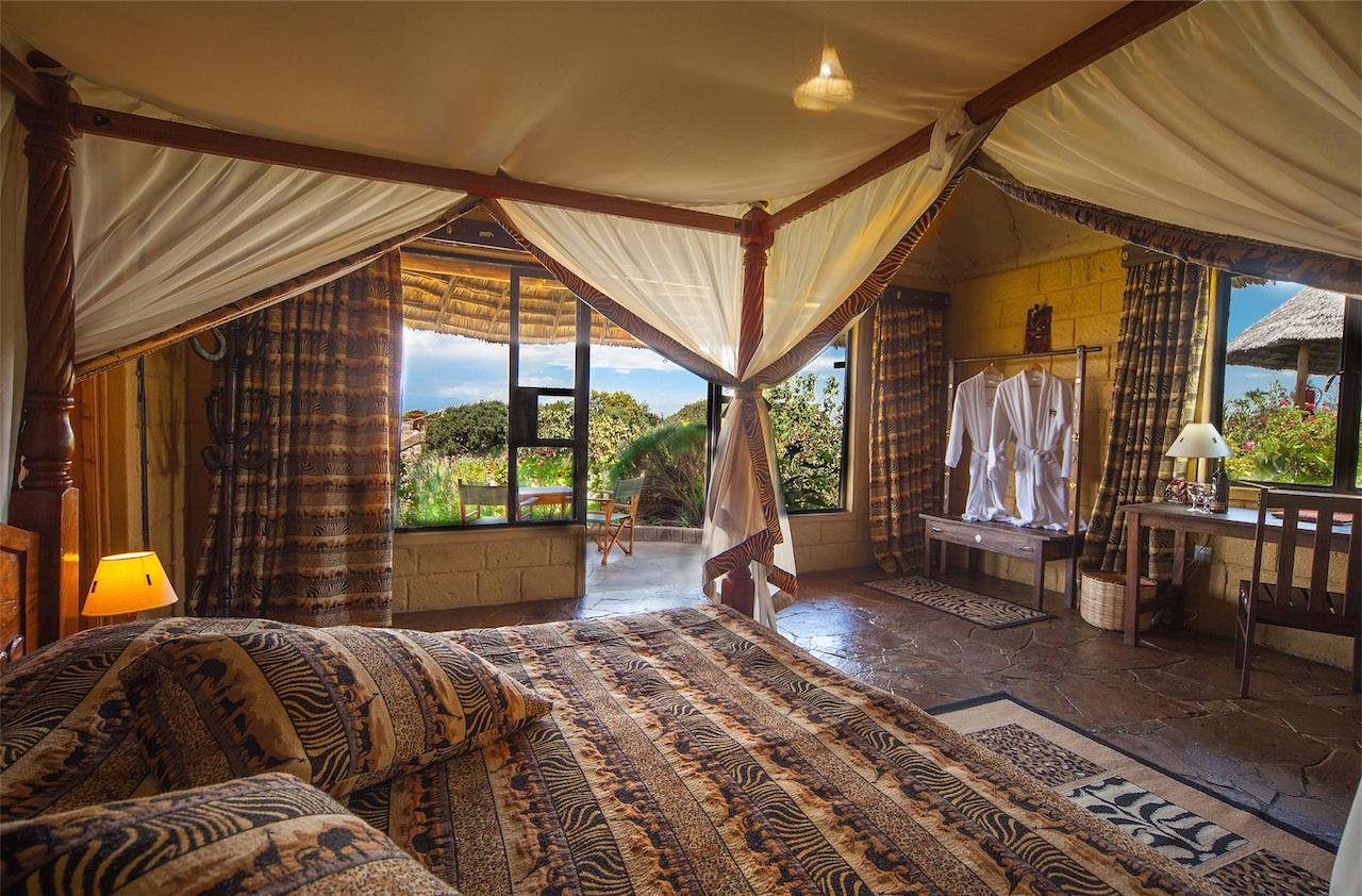 Lodge in Kenia - Foto: Susanna Hagen, respontour
