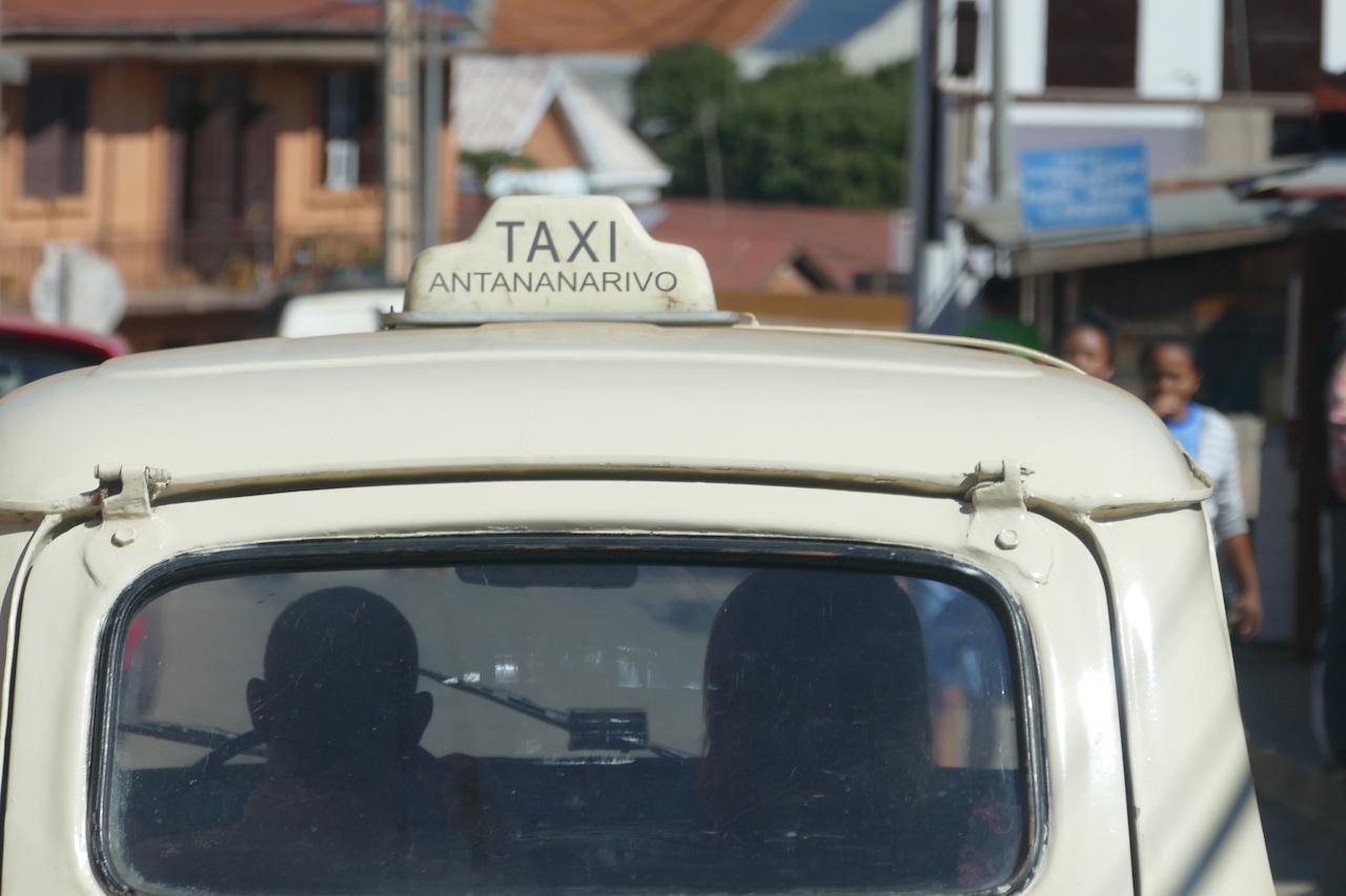 Taxi in Antananarivo, Madagaskar