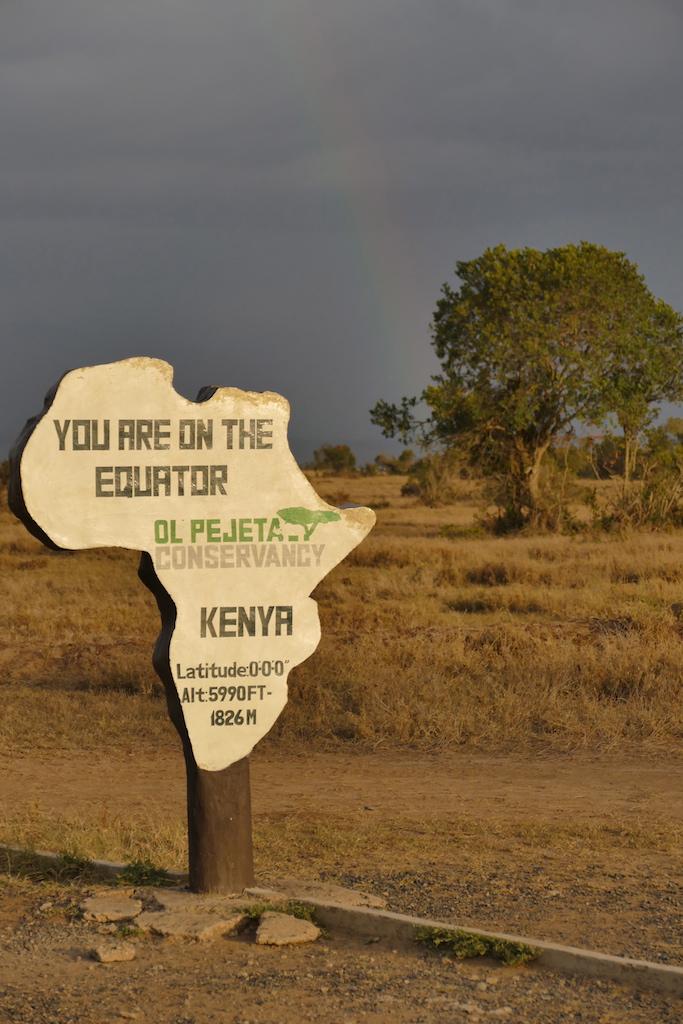 Am Äquator in Kenia - Foto: Susanna Hagen, respontour