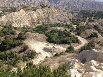 Aushängeschilder und Übungsfelder für die Tourismusentwicklung Georgiens, die Nationalparks