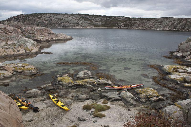 Westschweden ist ein Paradies für Freunde des See-Kajaks.