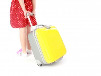 Wenn das Gepäck gut rollt, können auch die Kleinen schon viel mithelfen