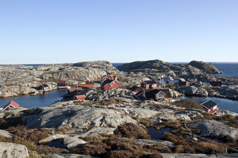 Eine Welt aus Wasser und kleinen Inseln: Westschweden.
