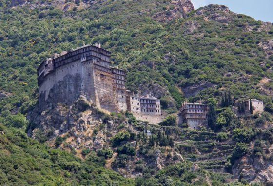 Kloster am Berg Athos - Foto Wolfgang Weitlaner